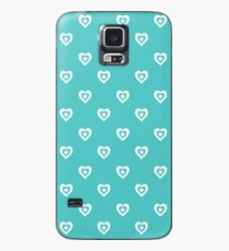 Mint Hearts Case/Skin for Samsung Galaxy