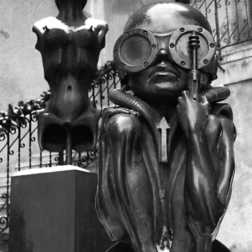 H R Giger Museum Baby Bullet Statue. Gruyeres, Switzerland by IgorPozdnyakov