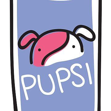Soda Pups: Pupsi by BountifulBean