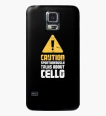 Cello Teacher / Cello Lessons Instructor - Cute Case/Skin for Samsung Galaxy