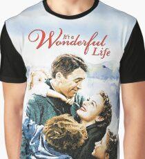 It's a Wonderful Life scene Graphic T-Shirt