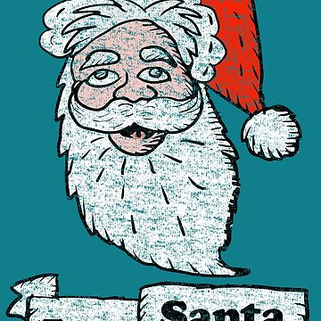 Vintage Team Santa  by Rajee