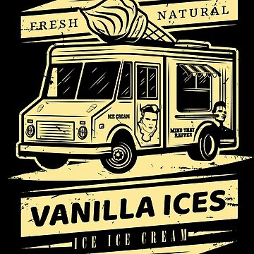 Fresh Natural Vanilla Ices Ice Ice Cream by McPod