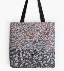 A Carpet of Flamingoes -  Arusha National Park Tanzania Tote Bag