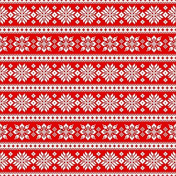 Cool Snowflakes Ugly Christmas Sweater for men and women by dasha-d