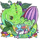Dragon Love by Lynda Bell