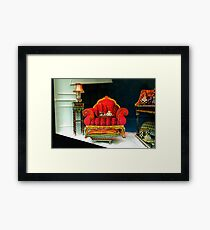 READY FOR THE HOLIDAYS Framed Print