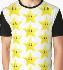 New Super Mario Bros. Star Graphic T-Shirt