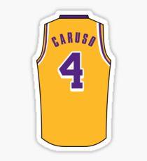 Alex Caruso Jersey Sticker