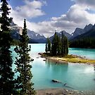 Western Canada Lakes by George Cousins