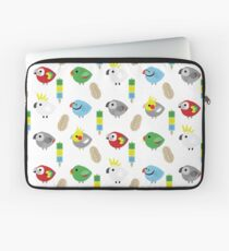BIRBS - Medium & BIG Parrots! Laptop Sleeve