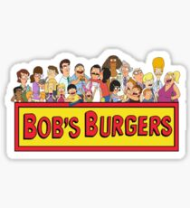 Bob's Burgers - All Characters Sticker