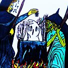 WITCHES SING THEIR INCANTATIONS  by JoAnnHayden