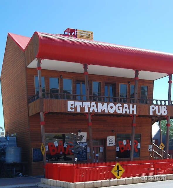 The Ettamogga Pub in Cunderdin by adbetron