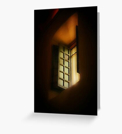 Light in the Sanctuary Greeting Card