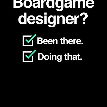Board Game / Boardgame Designer - Funny by EMDdesign