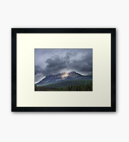 Spotlight Framed Print