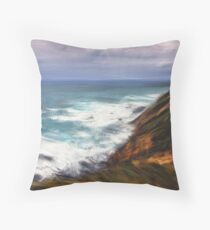 Devouring the Land Throw Pillow