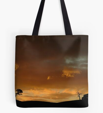Pyrenees Sunset Tote Bag