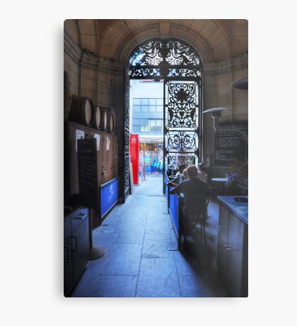 Gate to the Street Metal Print