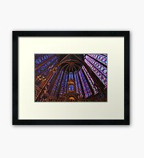 Sainte Chapelle, Paris Framed Print