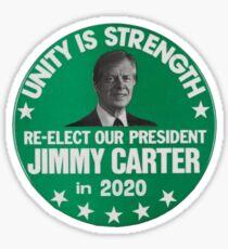 Jimmy Carter 2020 Sticker