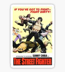 The Street Fighter 1 Sticker