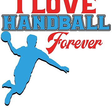 Handball Hand Ball Player Throw Sports Tournament Gift by design2try