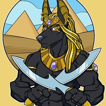 Dawn of Anubis  by cybercat
