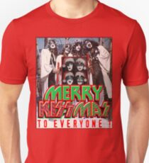 Merry Kissmas to Everyone !!! Unisex T-Shirt