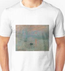 Claude Monet Mer Ocean Painting France Art Unisex T-Shirt
