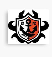 SquidForce Ranked Battle Shield Canvas Print