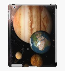 Neighboring Planets - Macrocosmos iPad Case/Skin