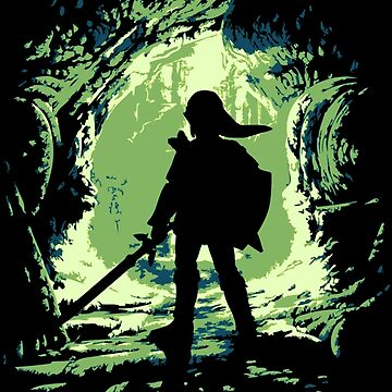 Link Emerges from the Darkness by Mike-Brodu