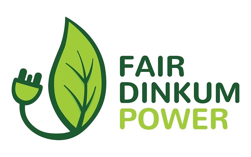 Fair Dinkum Power swag by fairdinkumpower