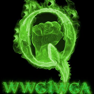 Green Combustion Q WWG1WGA  by TrumpQAnon
