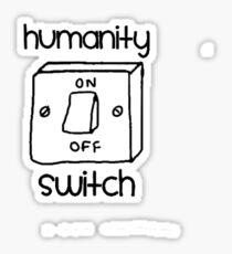Humanity Switch Sticker