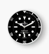 Rolex 114060 Submariner Face Black Dial  Clock