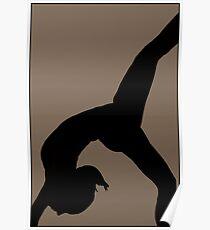 Photography Yoga -Bridge posture Poster