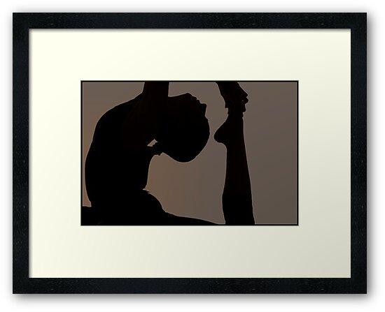 Photography Yoga -Cobra by Mel-D