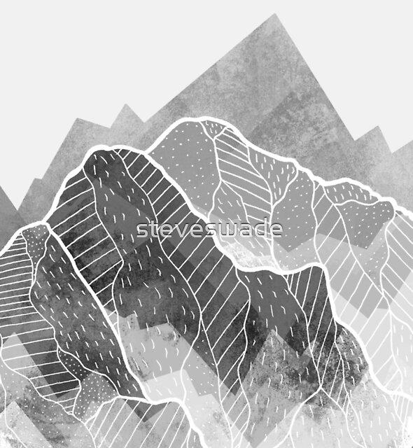 A misty winter peak by steveswade