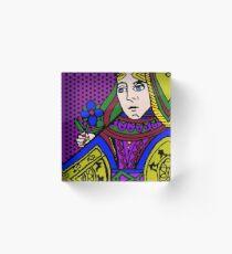 Queen Acrylic Block