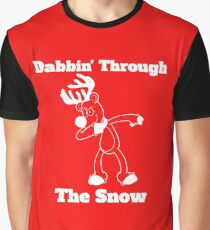 Rudolf Dabbin Through The Snow Graphic T-Shirt