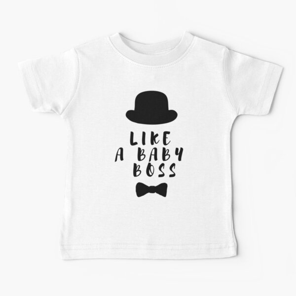 Like a Baby Boss x Bow Tie Baby T-Shirt