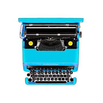 typewriter by johnnyvu