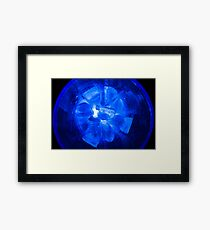 Ice Ice Bubble Glass Framed Print
