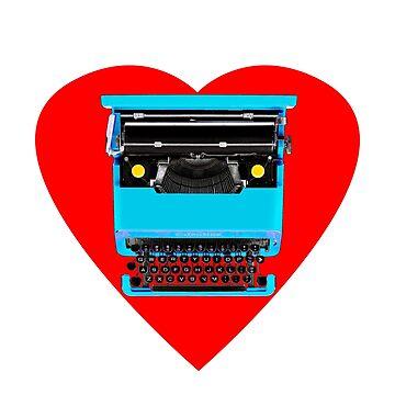 typewriter love by johnnyvu