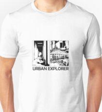 Urban Explorer Comic Effect Unisex T-Shirt