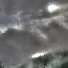 dramatic clouds over the mountains #1 by hidden-design