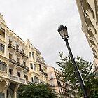Gallivanting Around Madrid is a Pure Delight - Calle Mayor Facades by Georgia Mizuleva